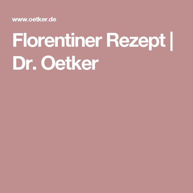 Florentiner Rezept | Dr. Oetker