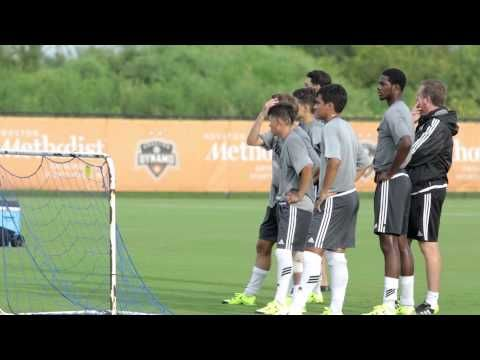 Dynamo Academy U18s train with Lionel Messi,  Argentina - YouTube