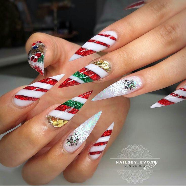 Mejores 229 imágenes de nails en Pinterest | Decoración de uñas, La ...