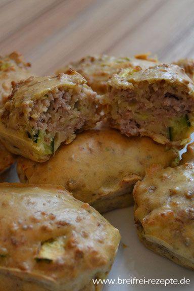 Hackfleisch- Zucchini- Küchlein ⌛ ① ❆ - breifrei-rezepte