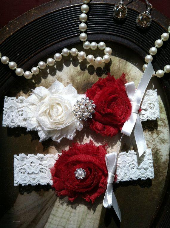 Wedding Garter  Garters  Toss Garter  Ivory by thehoneybeeshop, $22.00