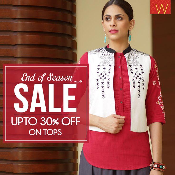 The most awaited SALE is here! #eoss #sale #ethnic #Wear #Indian #fashion #style #jewellery #designer #design #contemporary #kurta #kurti #india #chunni #dhupatta #drape #arm #neck #necklace #earrings #churidar #jeans #plazzos #fashionbottoms