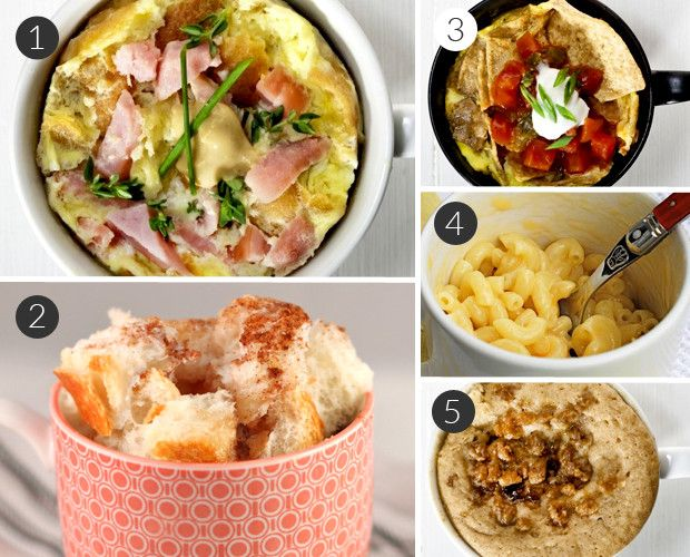10 Easy Recipes for Meals Made in a Mug10 Easy, Jars Mugs, Easy Recipes, Dinner Mug Recipes, In A Mugs, Easy College Meals Healthy