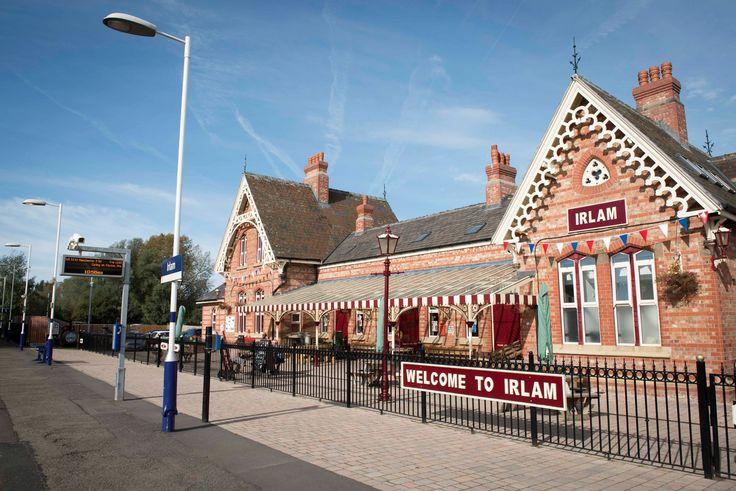 Irlam station, near Manchester, UK
