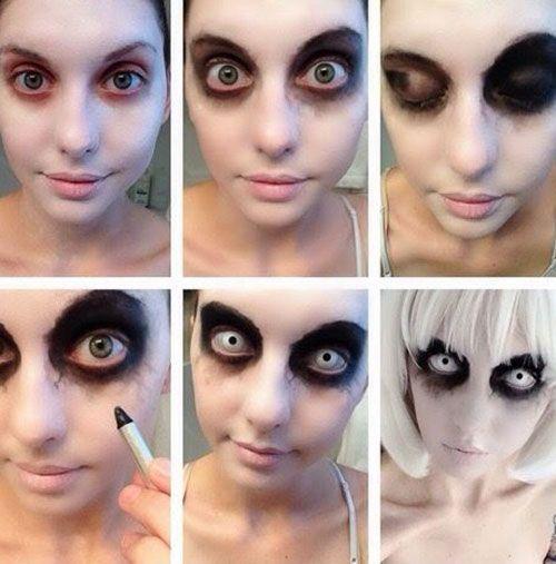 Beginner Halloween Makeup Easy.20 Easy Step By Step Halloween Makeup Tutorials For Beginners 2018
