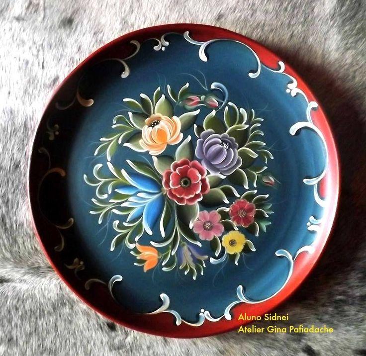 Pintura em cerâmica. Al Sidnei