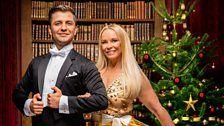 Pamela Stephenson and Pasha!
