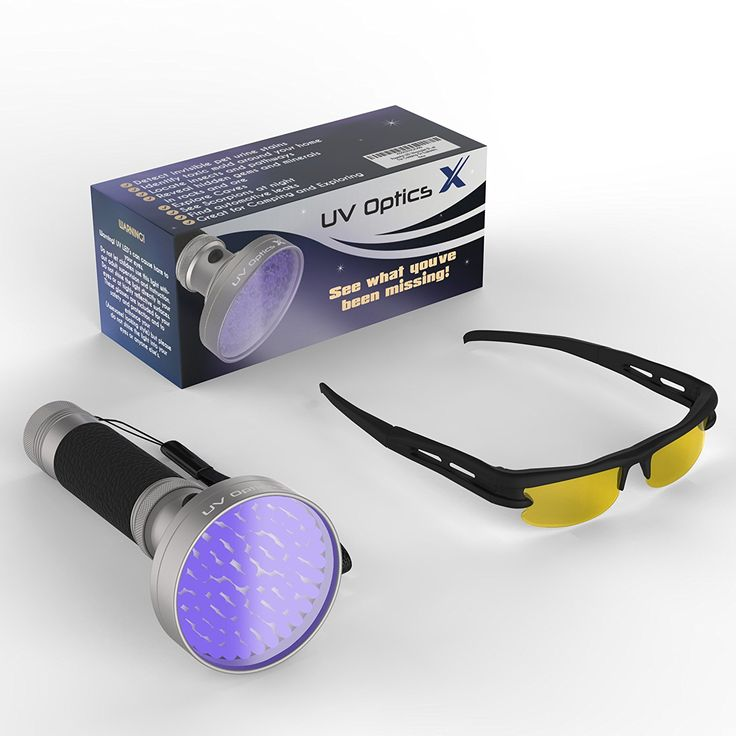Powerful LED Ultraviolet Black Light Flashlight Detects Bed Bugs >>> Click image for more details.