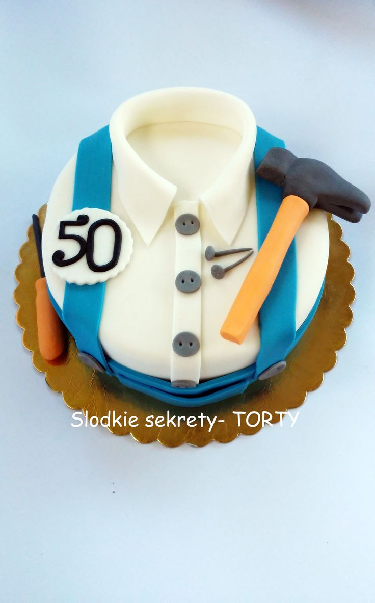 Cake for man shirt
