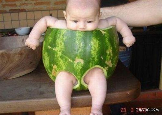 YESIdeas, Redneck Baby, Watermelon Baby, Diapers, Baby Chairs, Funny Stuff, Rings, Red Neck, Kids