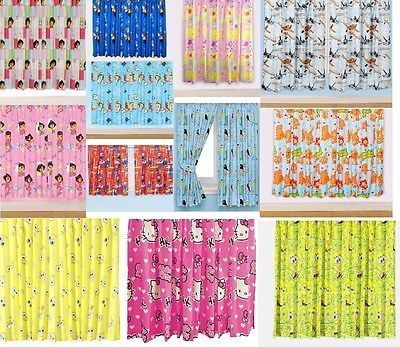 """New 66"""" x 72"""" #childrens #floral novelty #character curtains boys & girls pink bl,  View more on the LINK: http://www.zeppy.io/product/gb/2/290955907602/"""