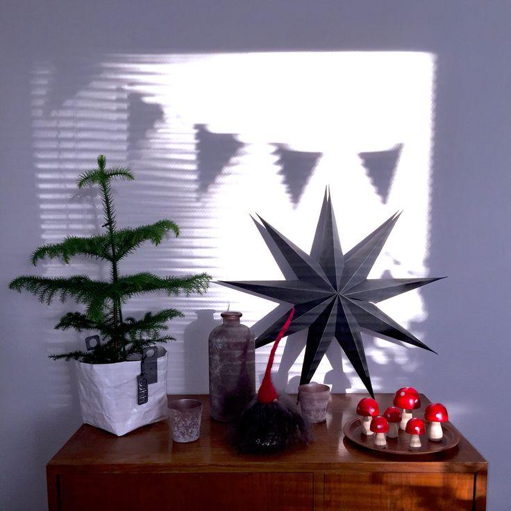 Xmas interior, scandinavian style, shadows, House Doctor