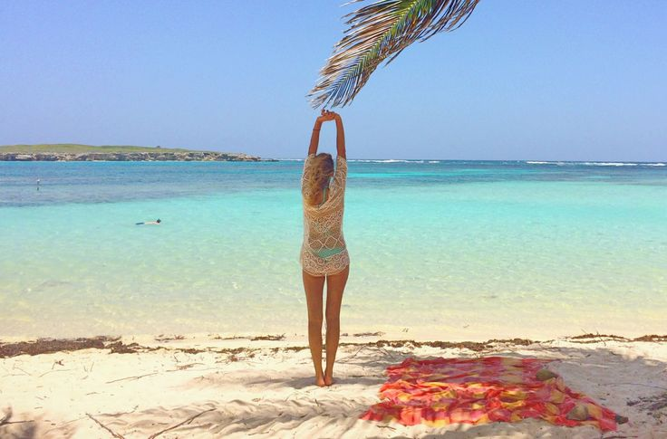 #Cukrowy #detoks #kobieta #morze #karaiby #plaża #raj