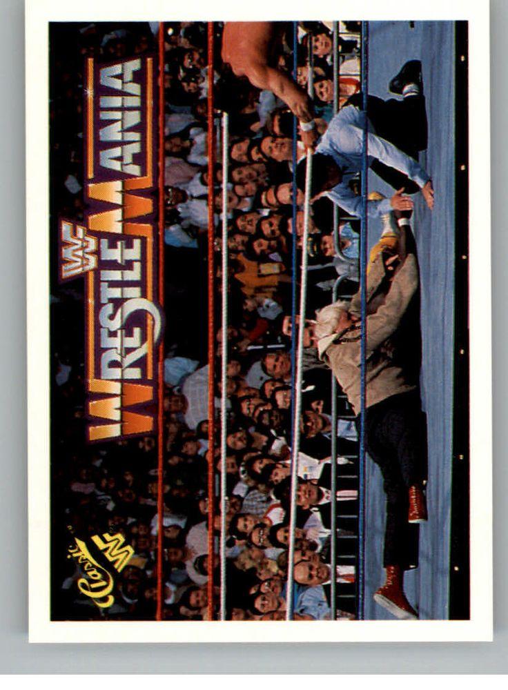 1990 Classic Wrestlemania WWF Trademark #56 Bobby The Brain Heenan/Koko B. Ware
