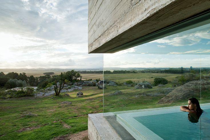 Fasano Las Piedras, Punta del Este, Uruguay. Designed by Isay Weinfeld