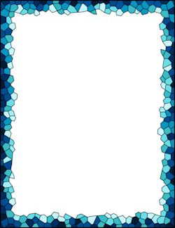 mosaic border patterns | Free Pattern Borders: Clip Art, Page Borders, and Vector Graphics ...