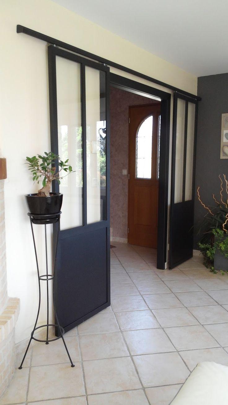 les 25 meilleures id es de la cat gorie double porte coulissante sur pinterest porte. Black Bedroom Furniture Sets. Home Design Ideas