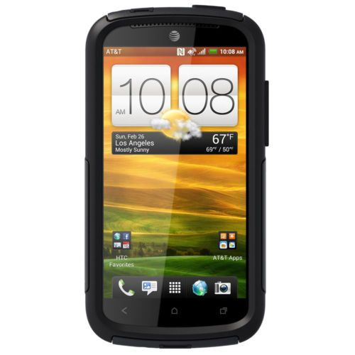 HTC-Phone-Case-for-HTC-One-VX-phone-cover-hard-case-w-screen-protector-black
