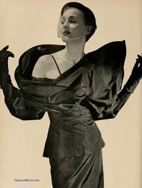 Gilbert Adrian dinner suit, 1950.