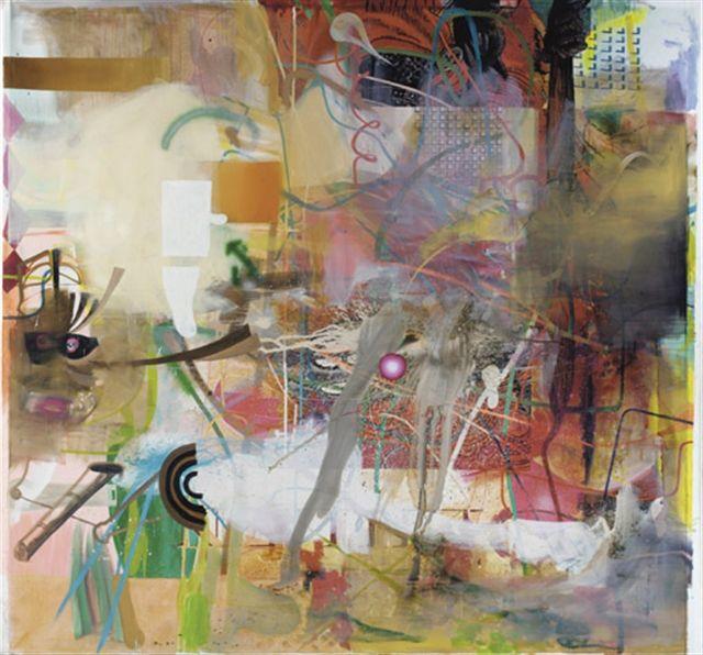 Albert Oehlen's beautiful chaos