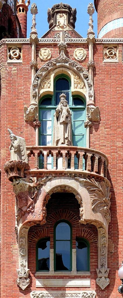 Hospital de la Santa Creu i Sant Pau  1915 - 1924  Architect: Lluís Domènech i Montaner