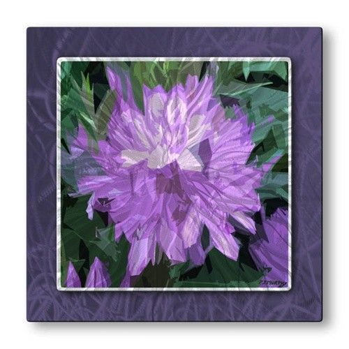 'Lilac' by Patrick Murphy Graphic Art Plaque