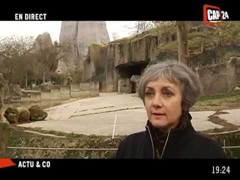 """Les travaux au zoo de Vincennes près de Paris (fermé depuis 2008) ont officiellement commencé depuis le 7 décembre 2011.  Pour sa réouverture prévue en avril 2014, le zoo de Vincennes, inauguré en 1934, devrait abriter 175 espèces, pour un total d'un millier d'animaux, pour la plupart en voie de disparition.    Le nouveau zoo de Vincennes de 2014 aura un autre visage, et plus qu'un zoo, s'apparentera à un """"voyage à travers la planète""""."""