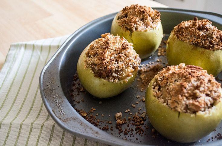 Paleo Crustless Caramel Apple Pie (Grain & Gluten-Free)