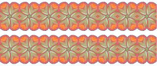 ArtbyJean - Borders: Seamless Borders with scalloped edges in sets of 2...