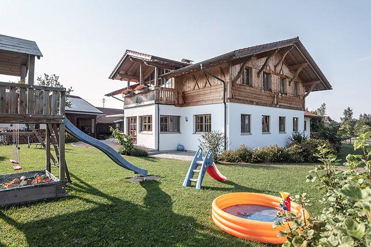 Massivholzhaus im Allgäu. Planung und Bau: Lerchenmüller Holzbau GmbH