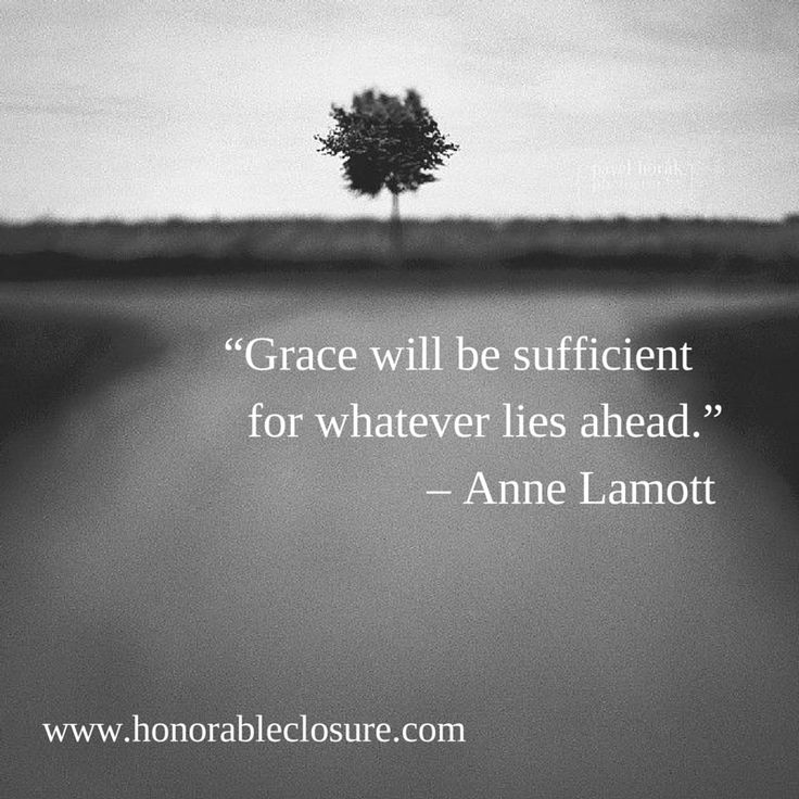 Anne Lamott quote about Grace.