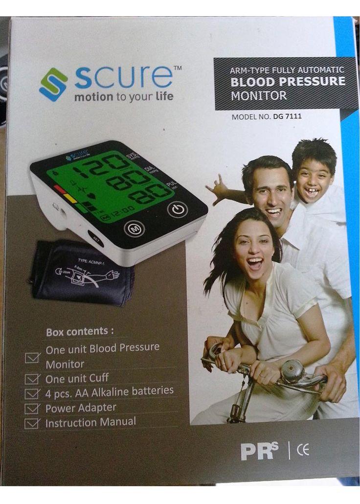 Digital Arm Cuff Blood Pressure Monitor
