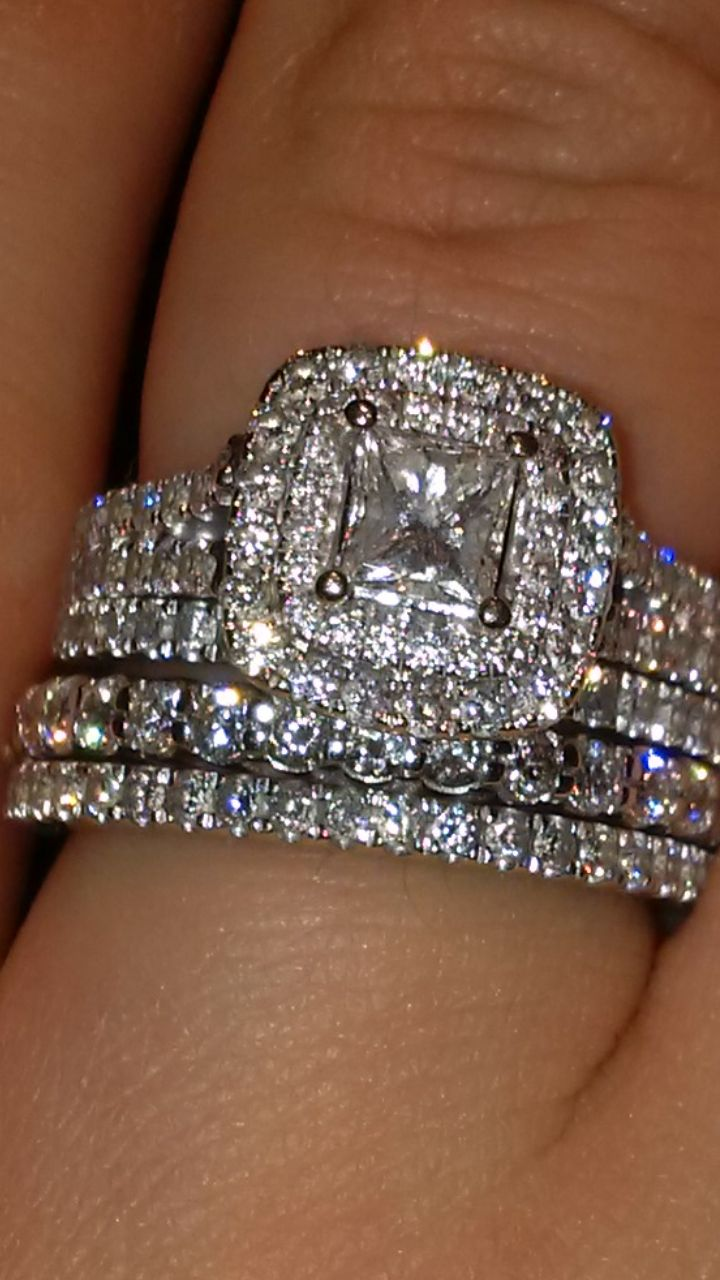with mouradian asscher rings diamond wedding in stacked all by bands eternity boston band designed pin two an the middle jeweler