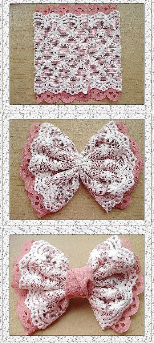 LACEY BOW tut