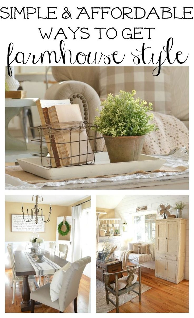 How to Get Farmhouse Style In Your Home
