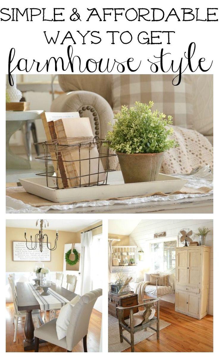 best farmhouse decorating images on pinterest