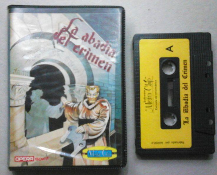 La Abadia del Crimen Amstrad CPC 464 Mister Chip!!