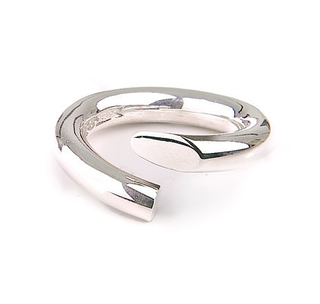 Twist Ring in silver £68