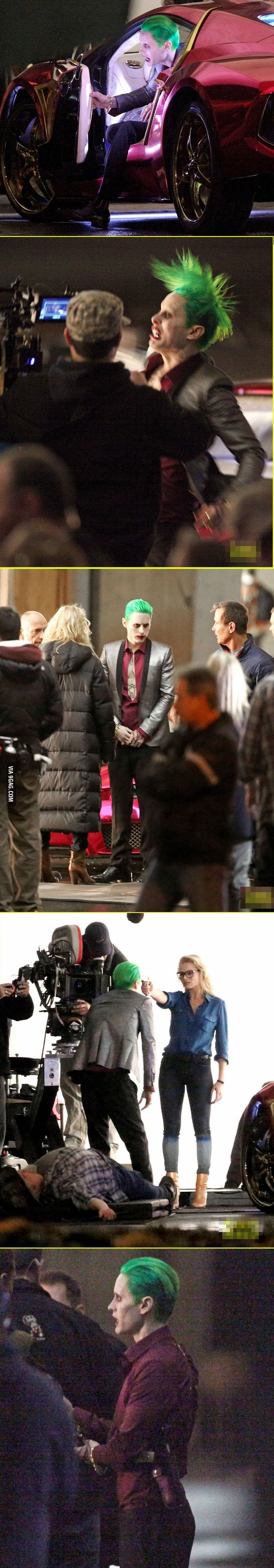 Dear Jared Leto, a lot of fans are giving crap about these photos, but i am REALLY looking forward to your version of Joker. =) I hope the movie will be GREAT!