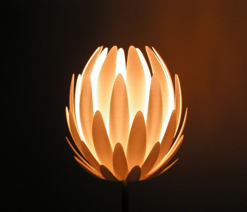 Lily Designer Lamp By Materialise.MGX Designed By Janne Kyttanen. There  Must Be A Way To Use Recycled Metal To Make A Garden Sculpture!