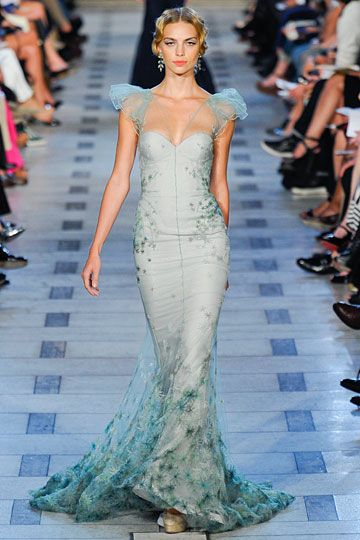 Zac Posen --- mermaid dress.