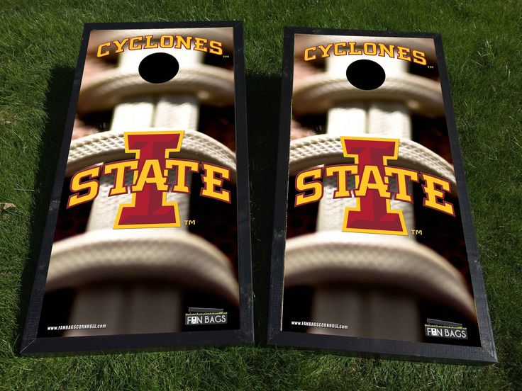 Iowa State Cyclones football cornhole/bags set