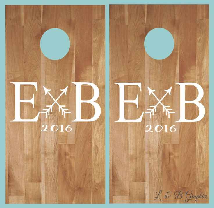 Best  Cornhole Decals Ideas On Pinterest Bean Bag Boards - Custom vinyl decals for wood