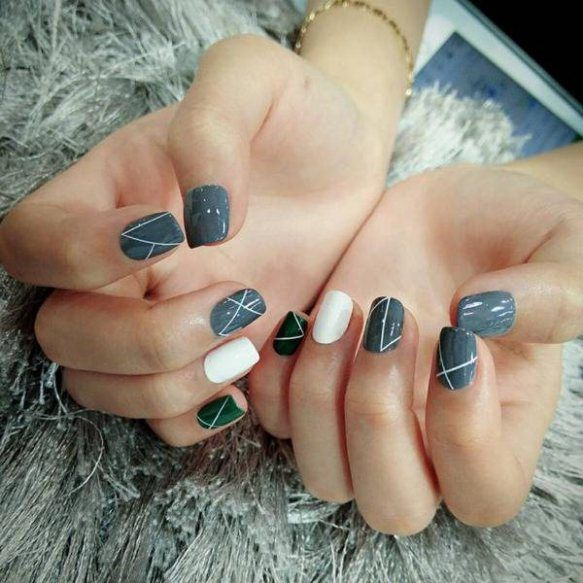 The 25 best cute simple nail designs ideas on pinterest designs 70 cute simple nail designs 2017 prinsesfo Gallery