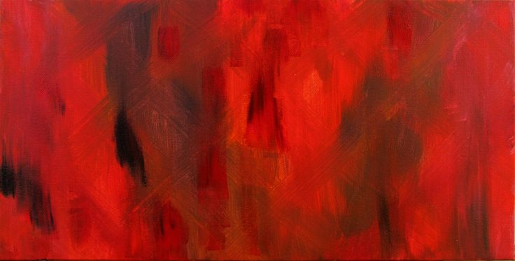 Fire by Ange Hart, a painting of the Process Accelerator product Fire. Acrylic on canvas.