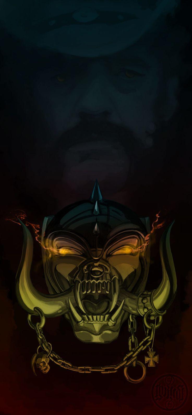 ArtStation - Editing Lemmy Kilmister - Motörhead