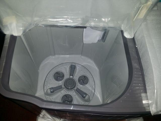 Unboxing LG Washing And Drying Machine.