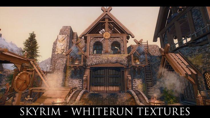 Skyrim Special Edition Mods: Whiterun Textures