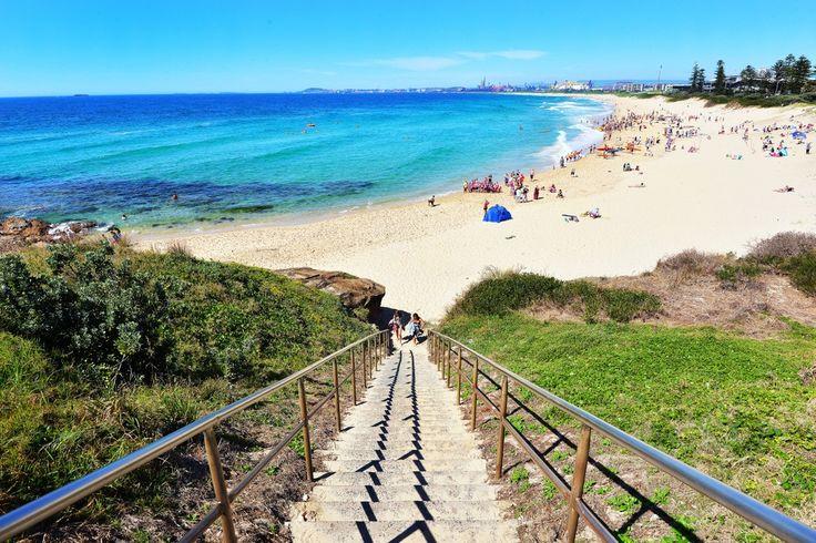 To the beach  City Beach Wollongong