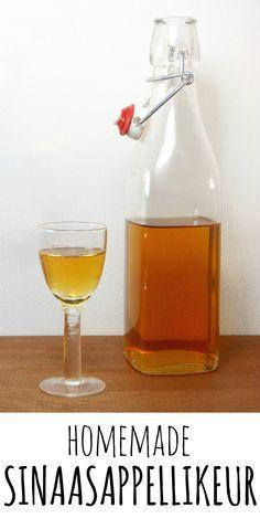 Zelfgemaakte sinaasappellikeur (Grand Marnier!)